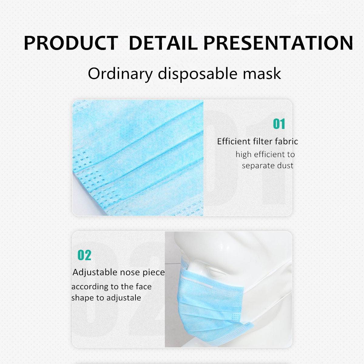 Details Of Disposable Face Mask