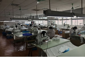 medical protective clothing factory